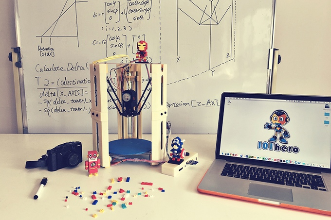 101Hero : The World's First US$49 3D Printer