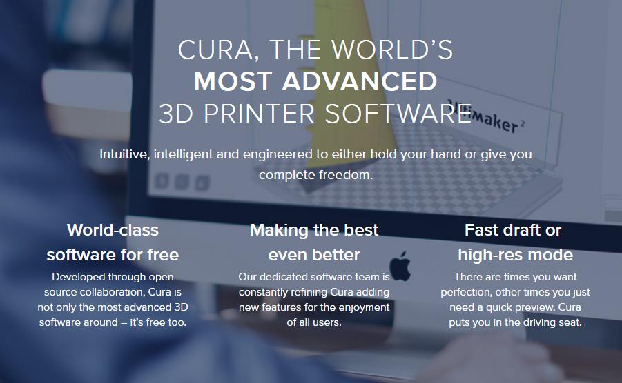 Cura 3D Printing Slicing Software