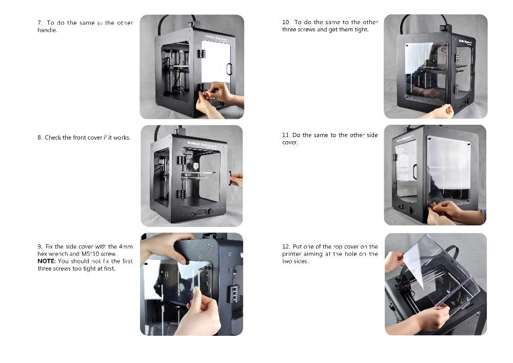 fixing-cover-Wanhao-Duplicator-6-2016-3D-Printer-imprimante-3d-02