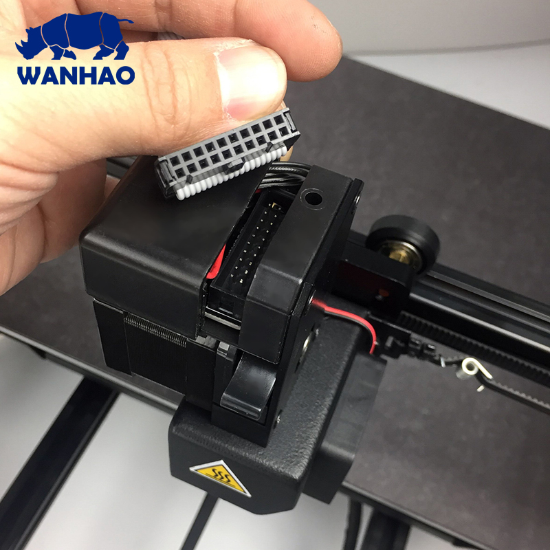 Wanhao Duplicator  Bed Size