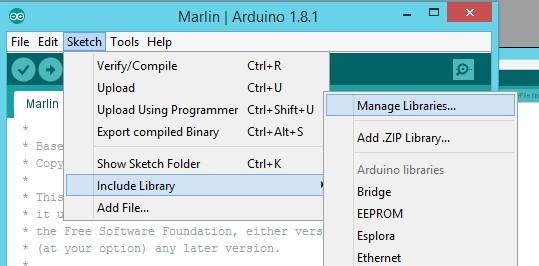 Tutorial: Install firmware Marlin 1 1 on 3D printer Monoprice Maker